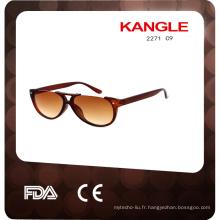 2017 Nouveau modèle et lunettes de soleil en plastique
