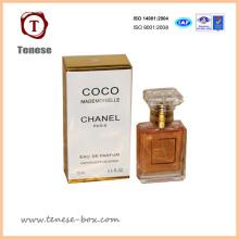Design Caixa de presente de luxo para perfume Soft Packaging