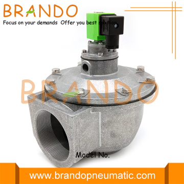 DMF-Z-62S 2-1 / 2 '' Pulse Jet Dust Collector Diaphragm Valve