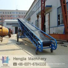 Arena transportador móvil barato, equipos, de transporte de grano