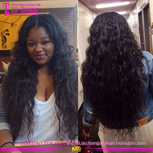 Preiswerte brasilianische Haar volle Spitzeperücke 20 Zoll 30 Zollgroßhandelsgummi brasilianische Haarglueless volle Spitzeperücke des elastischen Bandes