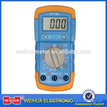 Multímetro Digital DT718L com Temperatura Testador de Bateria Backligt