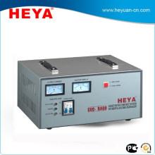 Hot sale 8KW analog display 220V Static full copper ac servo voltage regulator