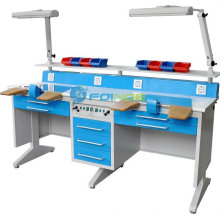 Equipamentos de laboratório dentário (Modelo: Estação de trabalho (duplo) EM-LT6) (CE aprovado)