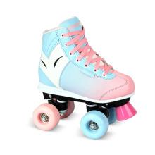 Soft Boot Quad Roller Skate para Crianças (QS-39-1)