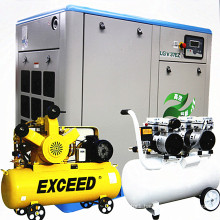 EXCEED 4 KW - 160 KW oil free compressor