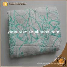 Heiße Verkäufe Qualität 100% Baumwolle Muslin Squares