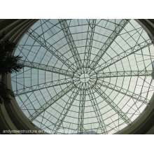 Gehärtetes Laminatglas Skylight Dome Roof