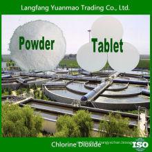 Vente à chaud de déchets industriels Traitement de l'eau au chlore Dioxyde