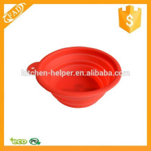 Top-selling Durable Silicone Travel Camping Baby Pet Bowl