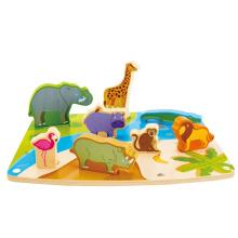 New Low Moq Children Toy 9 Piece Jigsaw Puzzles