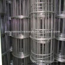 Treillis métallique soudé en fer noir à faible encombrement pour clous d'agrafage