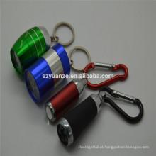 Promoção Keychain luz levou keychain lâmpada em forma de led keychain luz