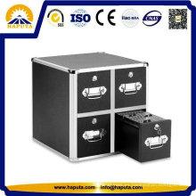 Pecho duro caso almacenamiento para CD con cuatro cajones Hf-7004