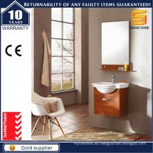 Unidad moderna de la vanidad del cuarto de baño simple de la melamina de venta