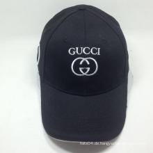 Kundenspezifische Stickerei und alle Farbe Baseball Cap / Sport Cap