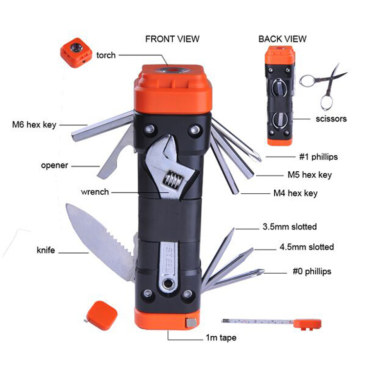 Emergency Multi Hand Tool Sets