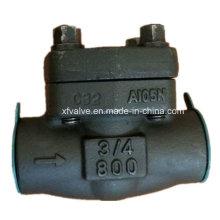 API602 Выкованная сталь углерода a105 нить проверить качания ДНЯО Клапан