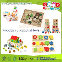 Kids Teaching Aids Wooden Toys- Educational Wooden Toys- Multifunctional Teaching Toys