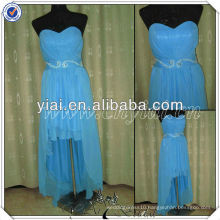 PP2580 Real Sample Front Short Back Long Cheap Evening Dress
