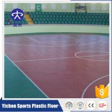 Planchers de basket-ball de PVC de fabricants de machine