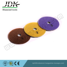 Jdk 3 Step Diamond Flexible Polishing Pads for Granite and Mrarble