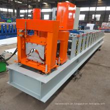 China ghana áfrica arco de metal telhado linha de produção de aço galvanizado cume cap formando máquina de baixo preço