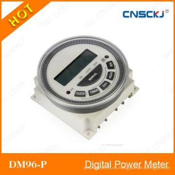 Nuevo temporizador programable digital del interruptor de la retransmisión del tiempo del LCD electrónico de DC 12V 16A