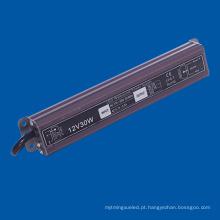 Fonte de alimentação DC12V para condutor exterior IP67 para lâmpada LED