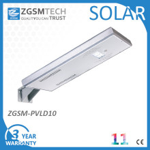 10W LED Outdoor Solar Street Light All in One