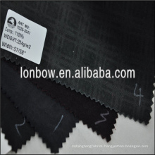 Wholesale printed new velvet polyester plaid fabric for jacket