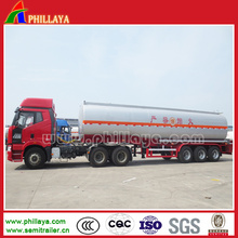 Carbon Steel Fuel Tanker Trailer Dimensions Opptional