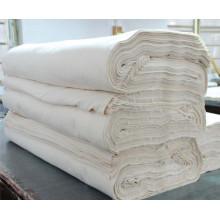 Poliéster 45% e algodão 55% tecido cinza 21 * 16 * 120 * 60