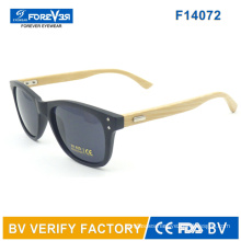F14072 Hotsale Good Quality Bamboo Temple Sunglass Meet Ce