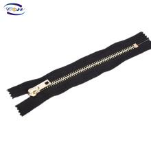 High quality customzied Y teeth metal zipper