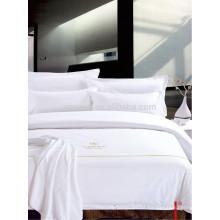 Satin Quality Hotel Textile Cama Linens Conjunto de cama para Westin Hotel Motel