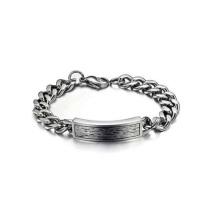 Bracelet à longue chaîne de mode, bracelet magnétique étanche en titane