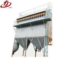 Filtro de bolsa de colector de polvo de carpintería de silo de acero de pequeño pulso