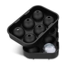 custom 3d easy release lattice cover round block set de tray ball cube silicone ice molde