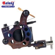 Solong M801-2 alta calidad de hierro hecho a mano 10 vueltas de cobre puro máquina de tatuaje que hace la máquina bobina de la máquina del tatuaje