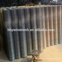 1/2 '' soldada malha de arame de exportação para o Paquistão galvanizado malha soldada
