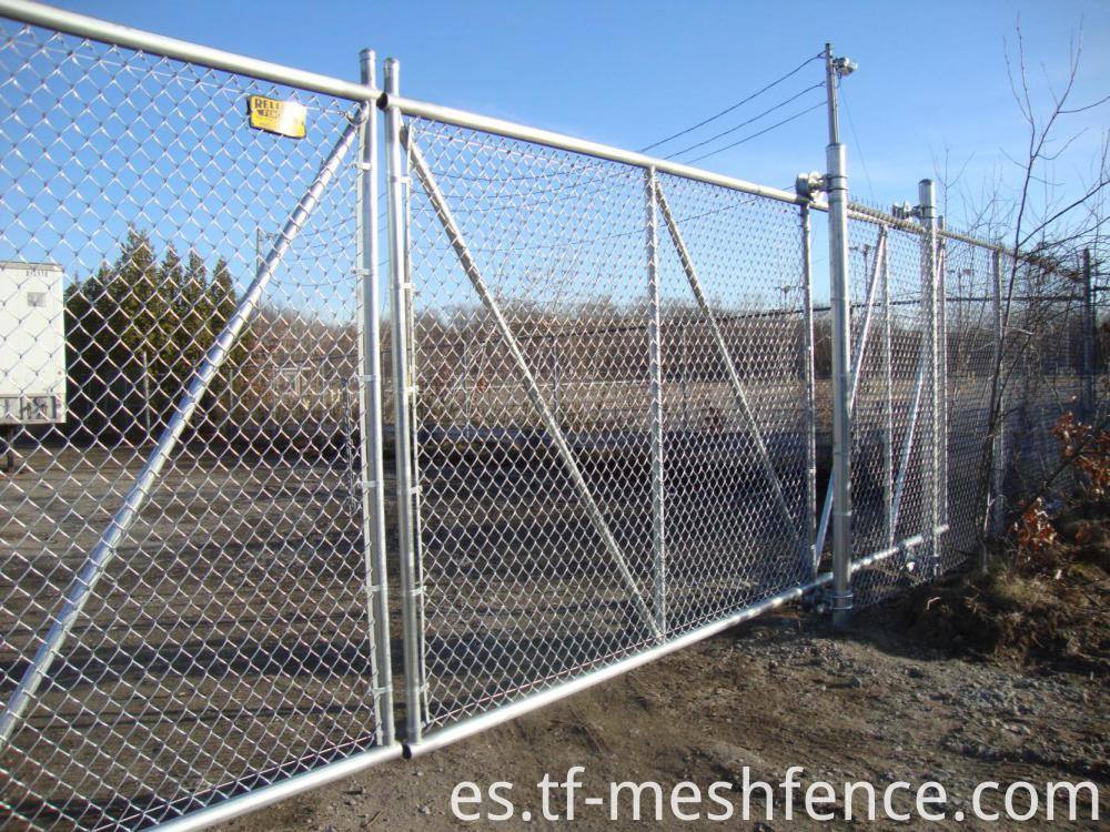 galvanized chain link