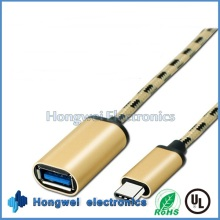 USB3.1 C Type Male to USB 3.0 a Female OTG Extension USB Cable