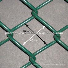 PVC beschichtete Kette Link Zaun Fabrik und Firma