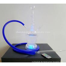 GH077-LT Borosilikatglas Wasserpfeife Shisha / Nargile / Wasserpfeife / mit LED-Licht / Sheesha / Narguile