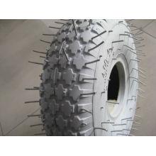 rueda de goma 4.00-4 color gris