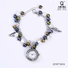 Imperméable à l'eau à la mode montres montre perle d'eau douce