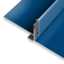 KR-24 standing seam roof zinc-plate steel sheet workshop roof forming machine metal roof tile making machine