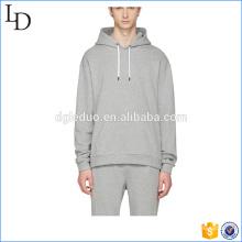 Grey round bottom cheap man hoody spring gymwear wholesale in China