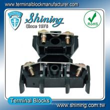 TD-015 AWG 14 Doppelter Deck 600V 15 Amp PCB Schraubklemmenanschluss